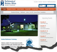 This site design was created to integrate with the University Content Management System.