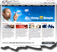 This site was developed with Dreamweaver and is edited by client using Adobe Contribute.